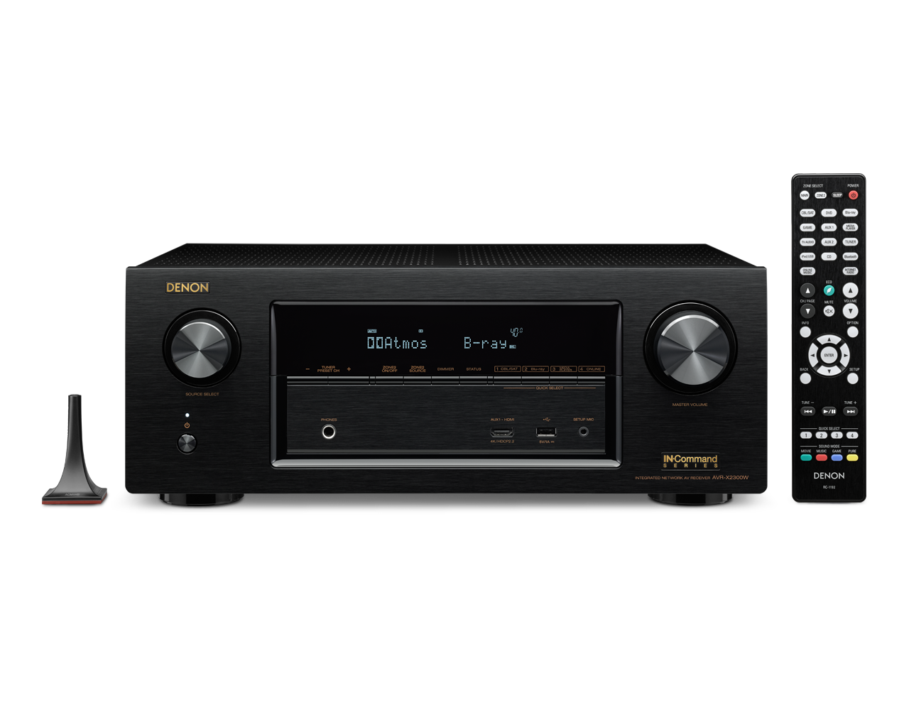 Receiver Denon Avr - X2300W 7.2 Canais Full 4K Ultra HD Bluetooth e Wifi