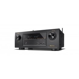 Receiver Denon AVR-X2400H 7.2 Canais 4k Full Ultra HD Bluetooth Wifi x2400
