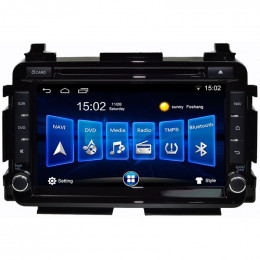 Central Multimídia IWin Caska CA670AP-I Honda HR-V GPS TV E Bluetooth WiFi E Android